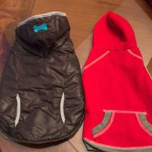 2 Dog Jackets size medium